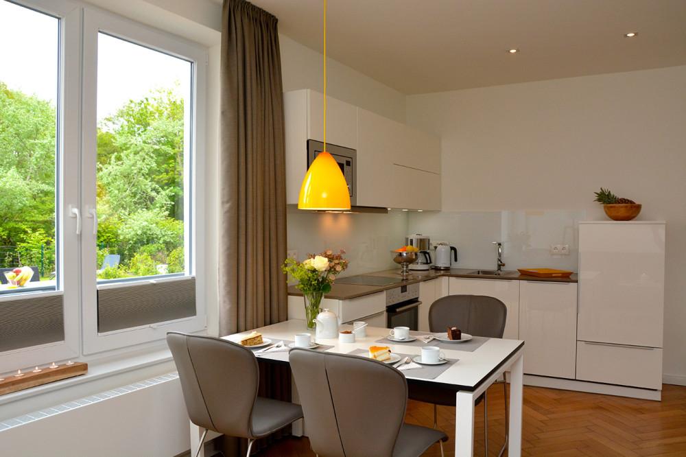 Ferienwohnung mit Kamin auf Norderney für 5 Personen