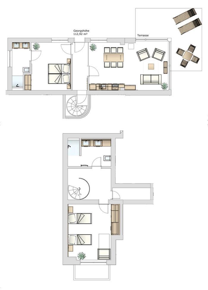 Gesamte Wohnung